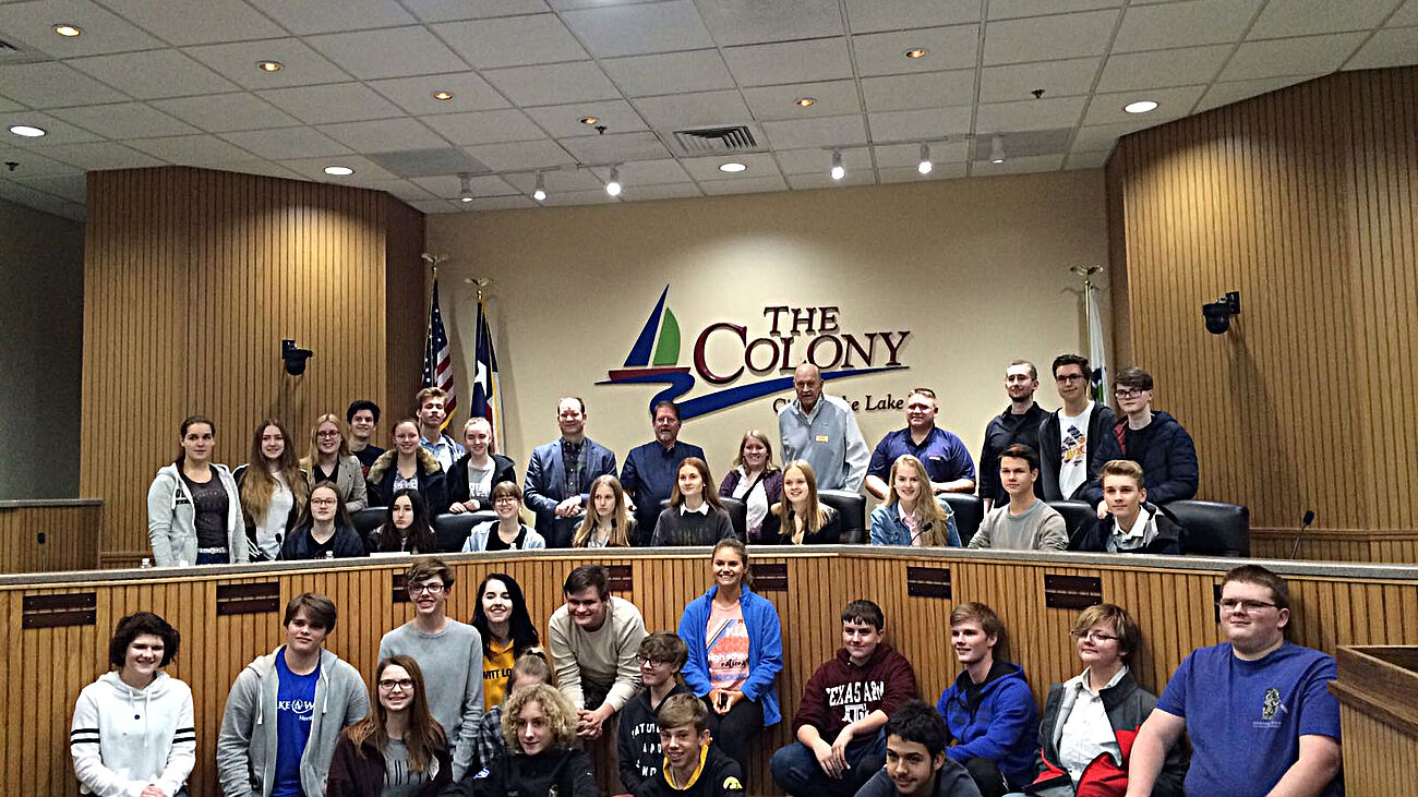 "Austausch mit ""The Colony High School"" in Texas"